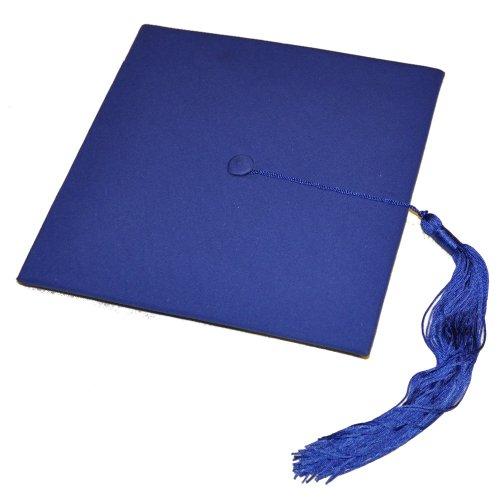 Doktorhut Graduation Cap Mortarboard (royalblau)