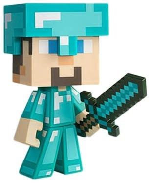 Minecraft Diamond Steve Vinyl Figur *Limited Edition*