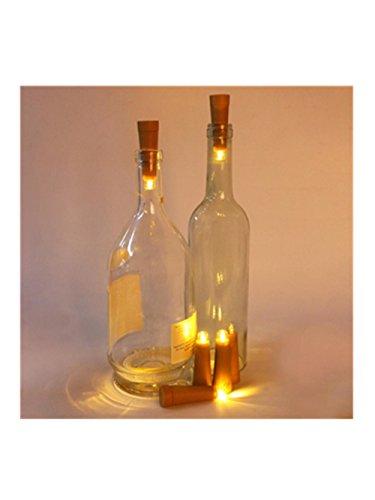 ein-Flaschen-Kork-Form-Licht-sternenklare helles Hochzeits-Deko (Halloween Party Buchstaben Für Kindergarten)