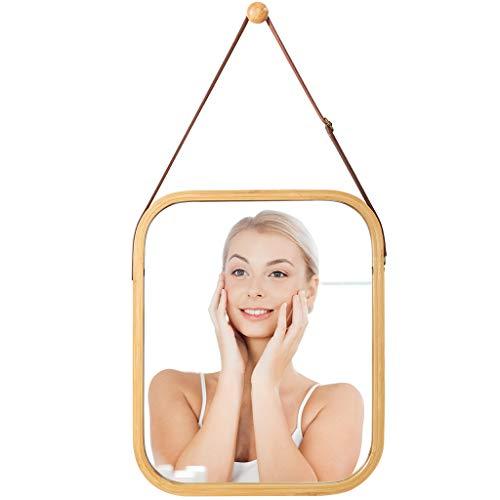 LANGRIA Espejo de Pared Colgante Decoración de Sala de Maquillaje Rectangular montada en la Pared...