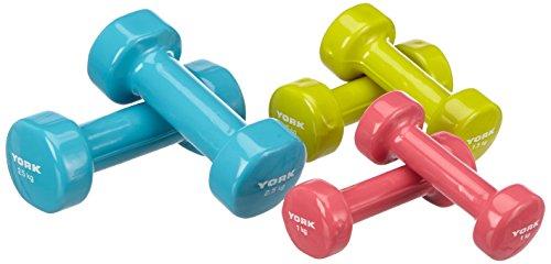 york-fitness-juego-de-mancuernas-de-10-kg-2-x-1-kg-2-x-15-kg-y-2-x-25-kg-color-azul-verde-y-lila
