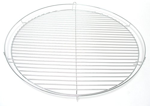HESANI 60 cm chrom Grillrost verchromt rund Grill Rost Grillgitter von Hesani GmbH