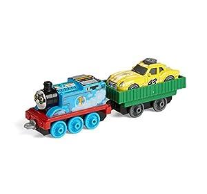 Thomas & Friends FJP55 Big Adventure Movie Engine de Thomas and Ace The Racer, Thomas The Tank Engine, Juguete de Metal, Juguete de 3 años de Edad
