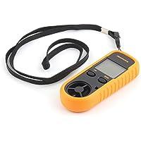 RGBS, anemometro digitale LCD, misuratore velocità del vento, termometro con retroilluminazione per droni, elicotteri, kitesurfing, vela, pesca, altro
