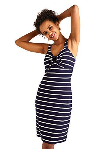 6d4c490ed YUMI - Vestido - para Mujer Azul Azul Marino 40