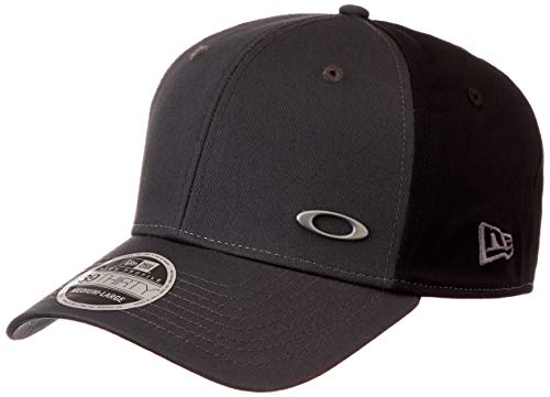 Oakley Herren TINFOIL Cap Stretch Fit Hats, Grigo Scuro, M/L - Stretch Fit Hut