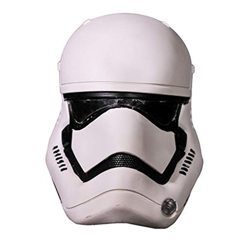 YUNMO Fun Ausrüstung Film um Star Wars weißer Soldat PVC Helm Cosplay Halloween Dress Up Maske (Dress Up Star Wars)