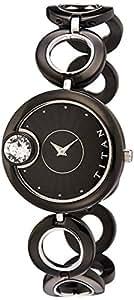 Titan Purple Analog Brown Dial Women's Watch - NE2503KM01