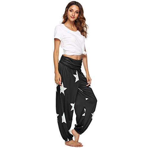 Pantalones Bombacho Mujer Porte Yoga Entrenamiento