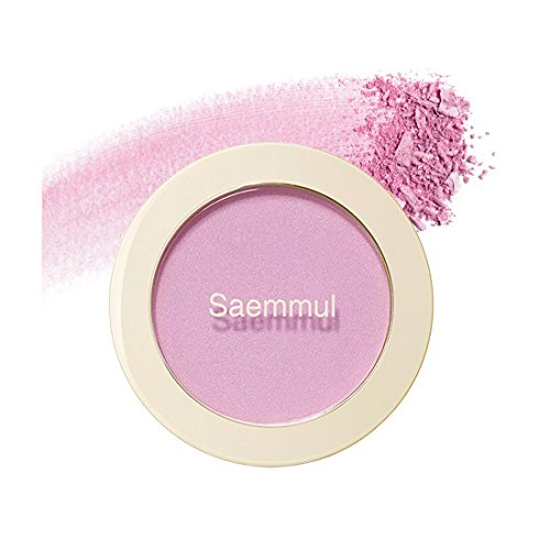 (3 Pack) the SAEM Saemmul Single Blusher PP01 Orchid Rumor