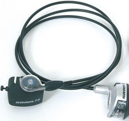 SRAM Drehgriffschalter P 5 komplett mit Clickbox 1600 mm