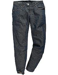 FREESOUL Femmes 3/4 Jeans Bleu fonce RESPECT-PGO, weite 24-48(hosen):W27