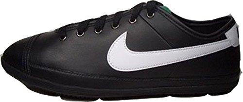 Größe Sneakers 13 Schwarze Nike (Nike Flash Leather 441396-030 Schwarz-Weiß Größe Euro 47,5 / US 13)