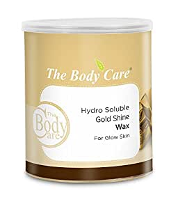 The Body Care Gold Shine Hydrosoluble Wax For Glowing Skin 700g