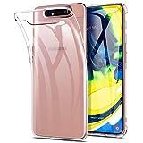 Yocktec Cover per Samsung Galaxy A80, Ultra-Sottile Trasparente Silicone Case in Gel TPU,...