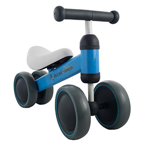 Airel Triciclo Sin Pedales | Correpasillos Bebé | Cuadriciclo Sin Pedales Bebé | Asiento y Manillar Acolchados | Triciclo Bebé | De 0 a 3 años