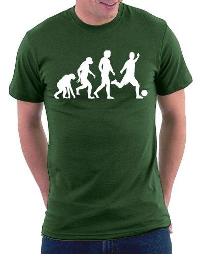 Evolution Fußball T-shirt Bottle