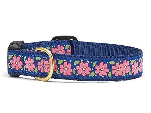 Up Country PNG-C-M Pink Garden Hundehalsband, Breit 1