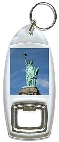 Llavero abrebotellas diseño Estatua Libertad Nueva