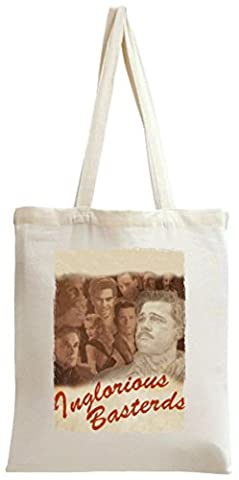 Inglorious Basterds poster western Tote Bag (Brad Pitt Western)