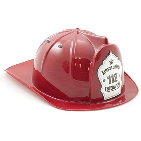 Kid's Shirt - Casco de bomberos para niños, color rojo