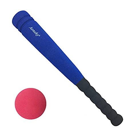 Aoneky Min Foam Baseball Bat and Ball for Toddler