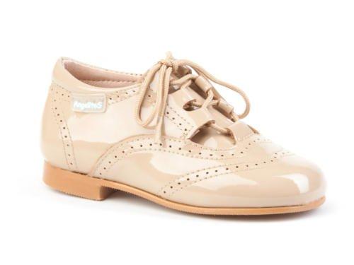 ANGELITOS , Chaussures de ville à lacets pour garçon Camel