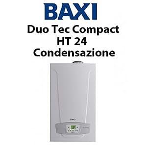 Baxi duo tec compact ht 24 ga brennwertkessel komplett for Manuale baxi duo tec