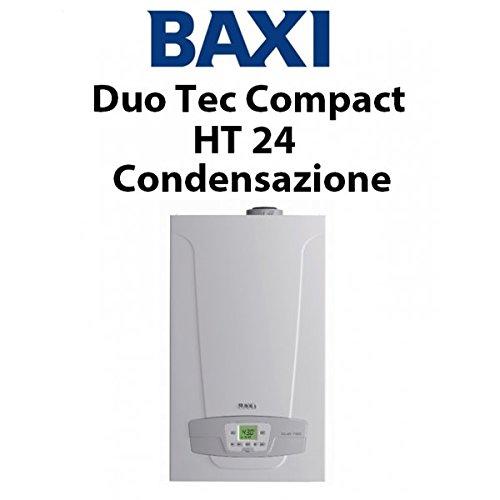 Baxi Duo-Tec Compact HT 24 GA Brennwertkessel, Komplett-Set mit Rauchabzug