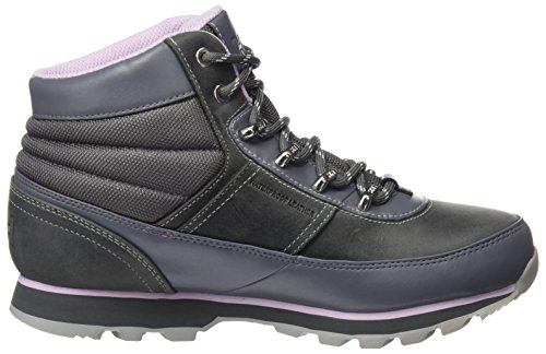 Helly Hansen - W Woodlands, Scarpe antinfortunistiche Donna Grigio (Charcoal/Hazy Pink/Ne)
