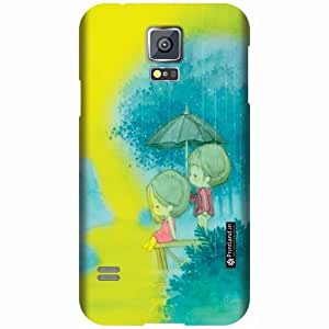 Printland Designer Back Cover for Samsung Galaxy S5 - Shaded Case Cover