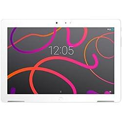 BQ Aquaris M10 - Tablet de 10.1''(HD, WiFi, 2 GB de RAM, 16 GB de memoria interna, Android 5.1 Lollipop), color blanco