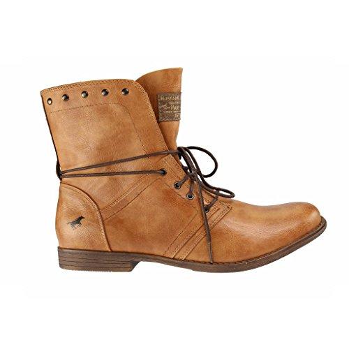 Mustang 1134602, Boots femme Marron - Marron