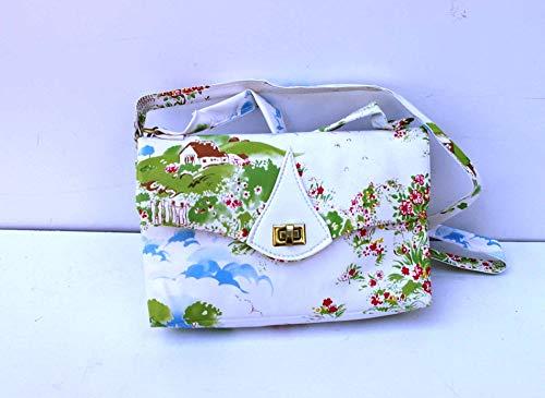 Kindertasche, PVC 643, Bedruckt Orginal aus der DDR Zeit eigene Produktion geeignet als Brottasche für den Kindergarten