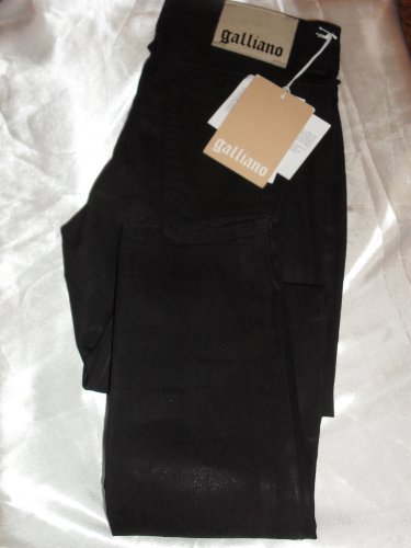 john-galliano-womens-black-jeans-size-eu-28-uk-10-new-tags-rrp-179