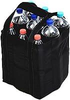 Best For Everyone Tragetasche, Baumwolle Flaschentasche Bottlebag Tasche für 9 Flaschen Einkauf, sehr gute Qualität