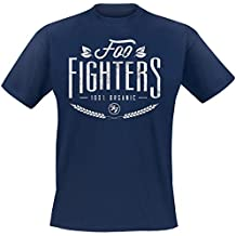 Foo Fighters 100% Organic T-Shirt dunkelblau