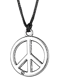 Inception Pro Infinite (Símbolo de la Paz) Collar con Correa en Negro Correa Ajustable en 5 diseños Ideas de Regalos