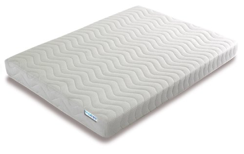 SPECIAL OFFER** Memory Foam 3 Zone Mattress with FREE 1 Fibre Pillows, Micro Quilted cool flex Cover, Single , 3 ft , 90 x 190 cm