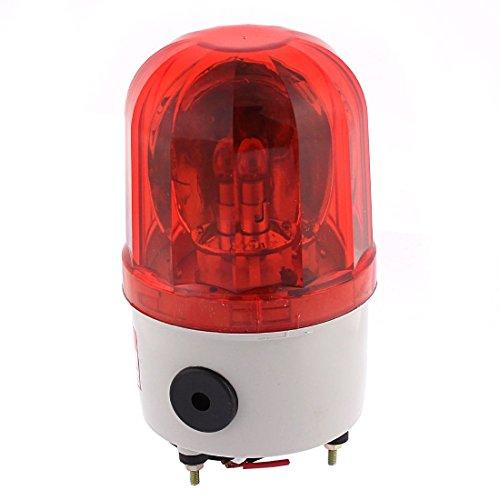 Miki&Co Kunststoff Shell DC 24V 10W LED Flash Industrielle Signal Alarm Lampe rot - - Dc-co-alarm