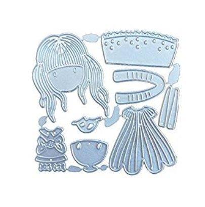 2700Lon langes Haar, Blumen und Stahl-Messer, DIY Papier Handwerk, Messer, Werkzeuge für das...