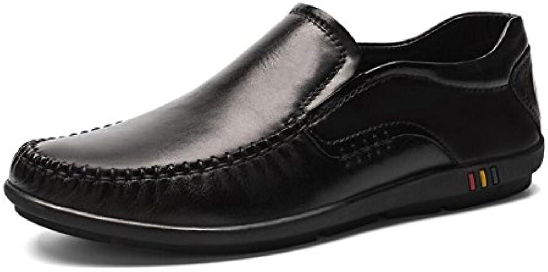 CAI Herren Schuhe Kunstleder Lederschuhe Fruumlhling/Sommer Herren Formale Schuhe Loafers  Slip Ons Schwarz/Party