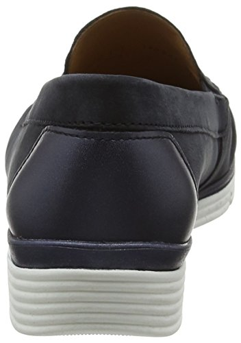 Gabor Shoes Comfort, Mocassini Donna Blu (nightblue/ocean 46)