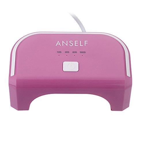 Anself Macchina Dryer cura lampada 100-240V 12W Nail LED per