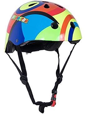 KIDDIMOTO Valentino Rossi S Casco para niños (KMHVR46S)