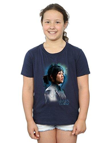 90bb78500b46 STAR WARS niñas The Last Jedi Rose Tico Brushed Camiseta 12-13 Years Armada