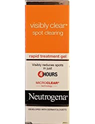 Neutrogena Visibly Clear Gel on the spot tube 15ml