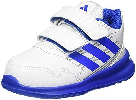 adidas Unisex Baby Altarun CF Sneaker, Weiß (Ftwr White/Blue/Mid Grey), 20 EU