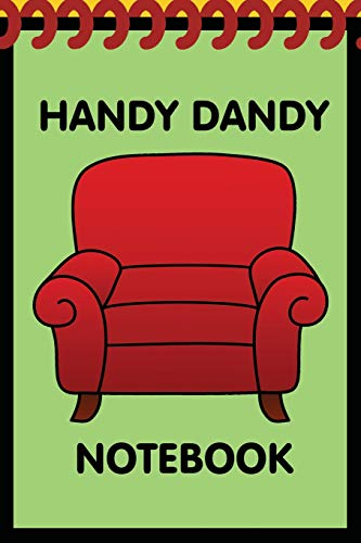 Handy Dandy Notebook: Kids little 6x9 inch notebook for drawing and detective clues with 120 sheets (Clues Bücher Blue)