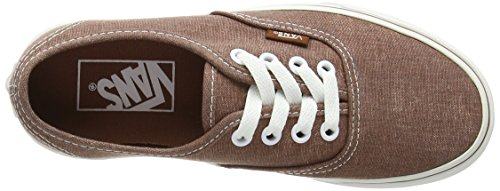 Vans U Authentic Washed Sneakers, Unisex Marrone (Brown (Washed - Brown))